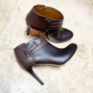 Nine West Punkie ankle heels boots with buckle